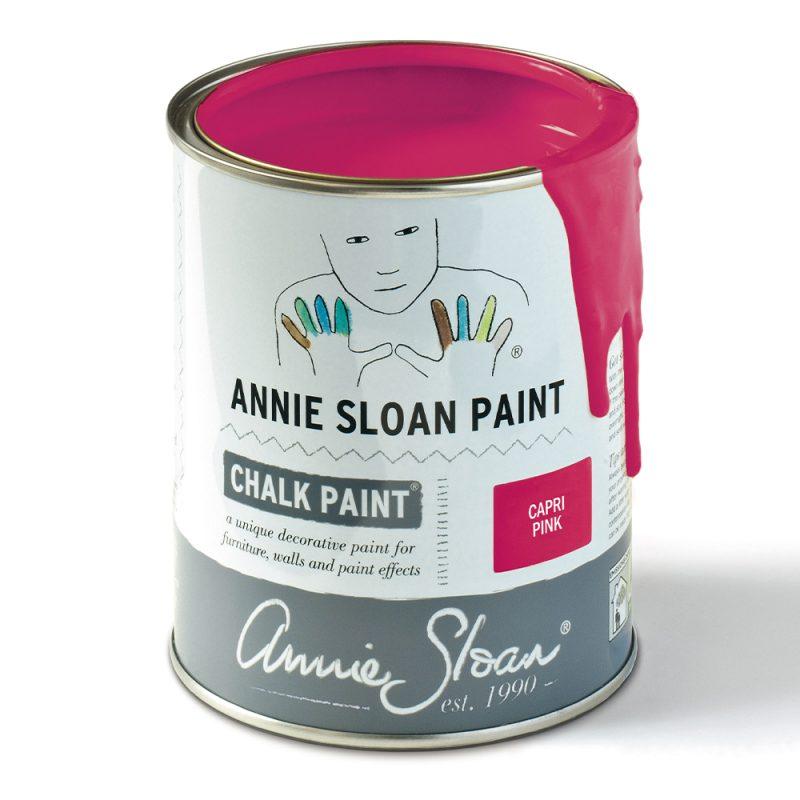 Capri-Pink-Chalk-Paint by Annie Sloan-1-litre-tin