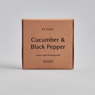 St Eval Scented Tealights - Cucumber & Black Pepper