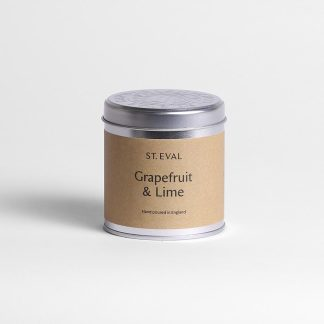 St Eval Grapefruit and Lime Scented Tin Candle
