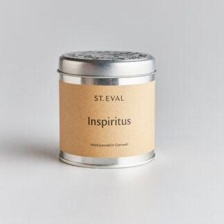 St Eval Inspiritus Scented Tin Candle