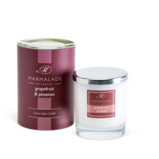Marmalade Of London Large Glass Candle - Grapefruit and Pimento