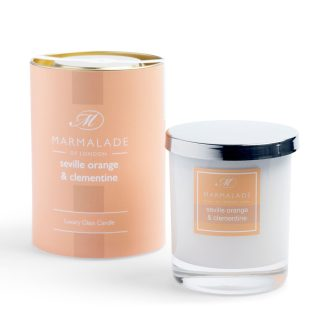 Marmalade Of London Large Glass Candle - Seville Orange and Clementine