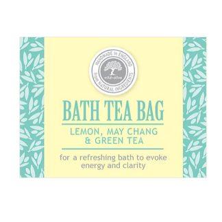 Wild Olive Bath Tea Bag - Lemon, May Chang & Green Tea