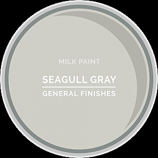 general finishes milk paint ~ Seagull Grey