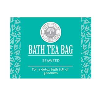 Wild Olive Bath Tea Bag - Seaweed