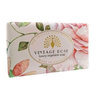 Vintage Rose Soap Bar - The English Soap Company