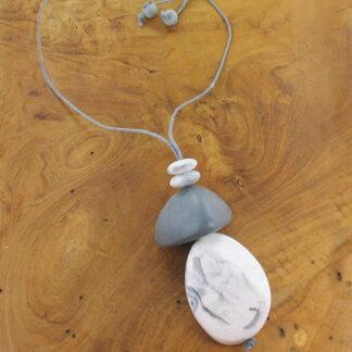 Suzie Blue BB6907 Adjustable Necklace