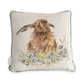 Wrendale Designs 'Bright Eyes' Hare Cushion