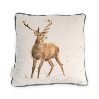 Wrendale Designs 'Wild At Heart' Stag Cushion