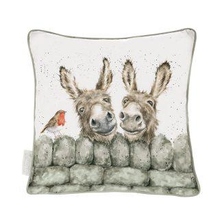 Wrendale Designs 'Hee Haw' Donkey Cushion