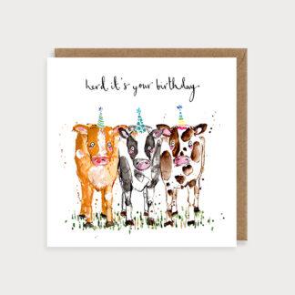 Birthday Herd Card