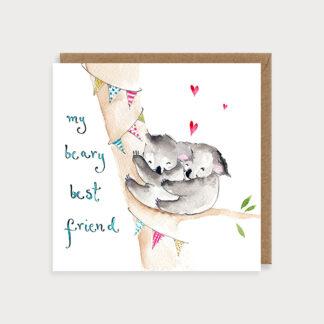 Beary Best Friend Card