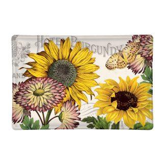 Michel Design Works Sunflower Glass Soap Dish