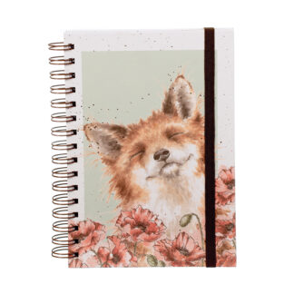 Wrendale Designs 'Poppy Field' Notebook
