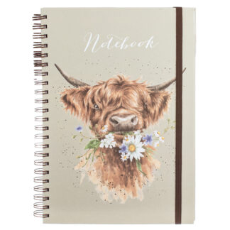 Wrendale Designs 'Daisy Coo' A4 Notebook