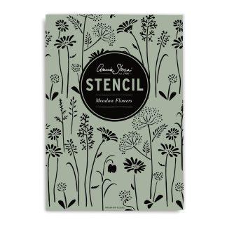 Annie Sloan Stencil Meadow-Flowers