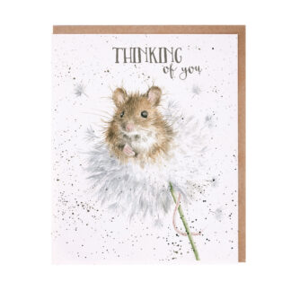 Wrendale Designs 'Dandelion' Thinking Of You Card