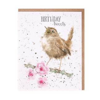 Wrendale Designs 'Birthday Tweets' Birthday Card