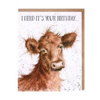 Wrendale Designs 'I Herd' Birthday Card