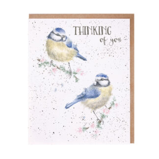 Wrendale Designs 'Bluetits' Thinking Of You Card