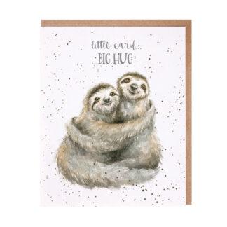 Wrendale Designs 'Little Card, Big Hug' Card