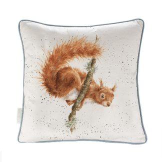 Wrendale Designs 'The Acrobat' Squirrel Cushion