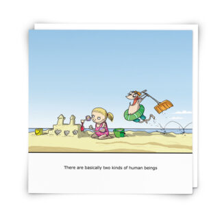 'Two Kinds' Greeting Card