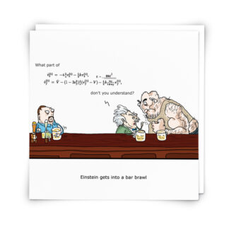 'Einstein' Greeting Card