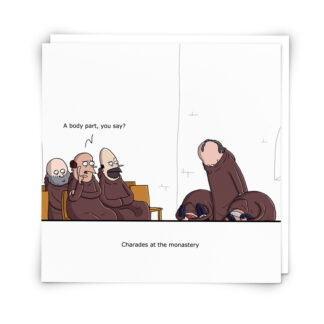 'Charades' Greeting Card