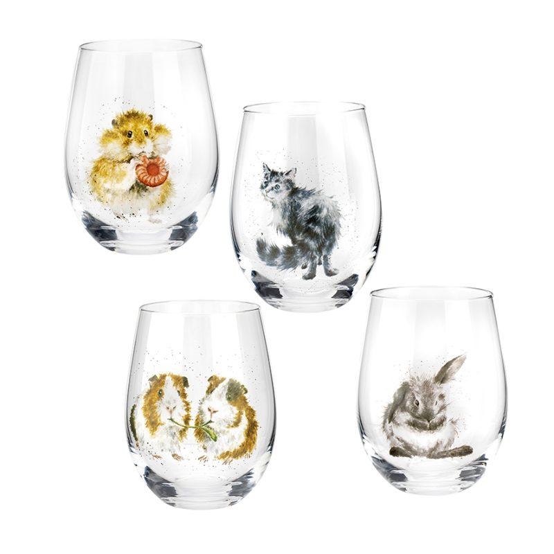 Wrendale Designs Tumbler Glass