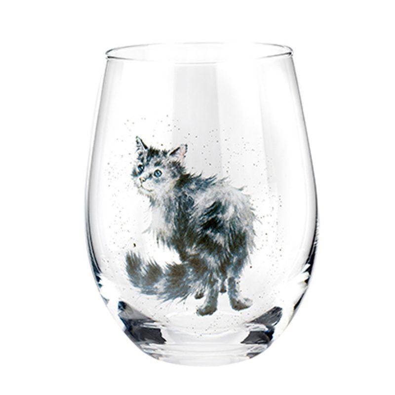 Wrendale Designs Cat Tumbler Glass