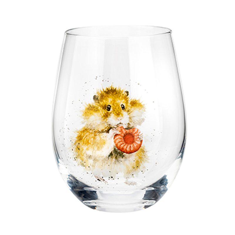 Wrendale Designs Hamster Tumbler Glass