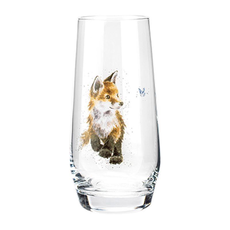Wrendale Designs Fox High-Ball Glass