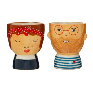 Libby and Ross Egg Cups (set of 2)