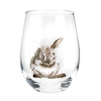 Wrendale Designs Rabbit Tumbler Glass
