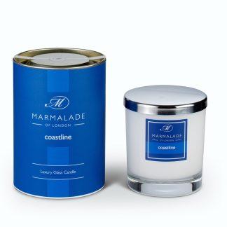 Marmalade Of London Large Glass Candle - Coastline