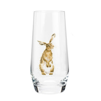 Wrendale Designs Hare High-Ball Glass