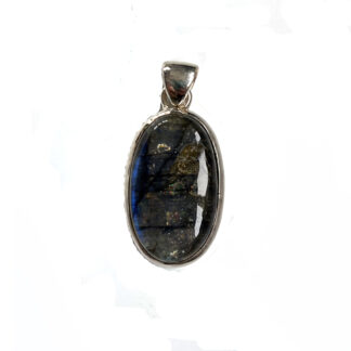 Labradorite Pendant set in Sterling Silver