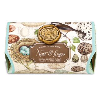 Michel Design Works Nest and Eggs Soap Bar