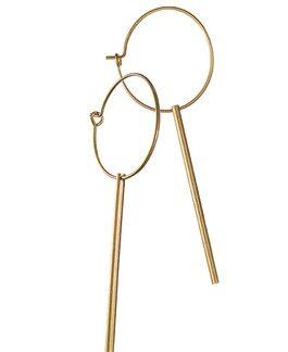 Hot Tomato Earrings LF397 Lilly Lollipops - Worn Gold