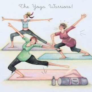 Berni Parker Designs 'The Yoga Warriors!'