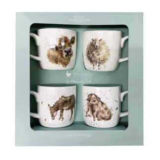 Wrendale Designs Set Of 4 Mugs