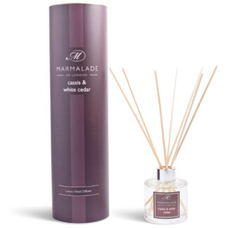 Marmalade Of London Cassis & White Cedar Reed Diffuser
