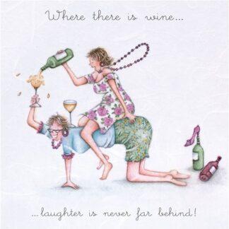 Berni Parker Designs 'Where There is Wine...'