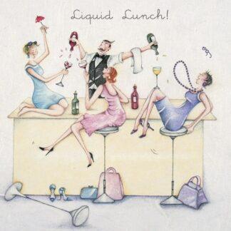 Berni Parker Designs 'Liquid Lunch!'