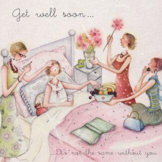 Berni Parker Designs 'Get Well Soon'