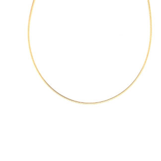 Gold Plated Omega Chain