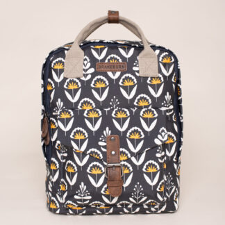 Brakeburn Geo Floral Backpack Navy