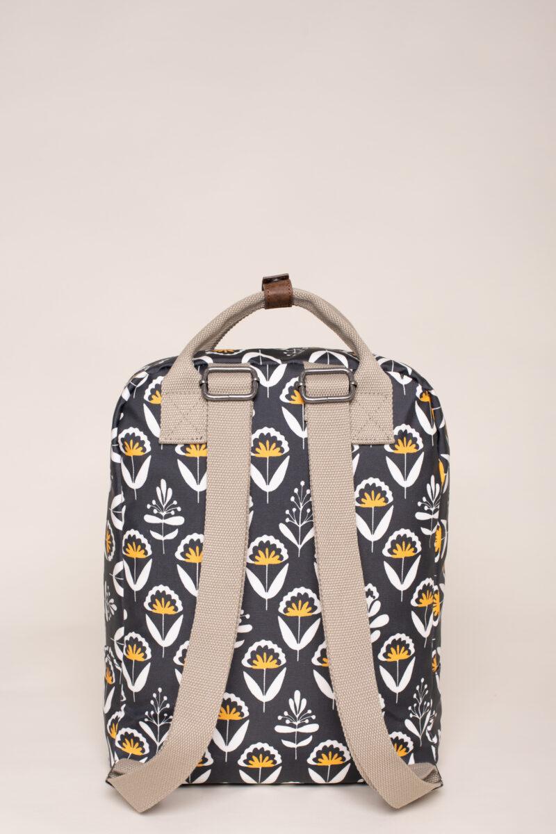 Brakeburn Geo Floral Backpack Navy