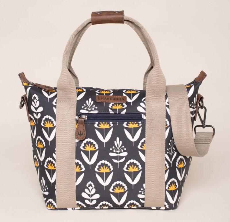 Brakeburn Geo Floral Grab Bag Navy